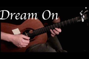 Aerosmith — Dream On fingerstyle tabs