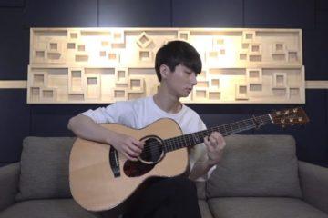 OST Aladdin - Speechless fingerstyle tabs (Sungha Jung)