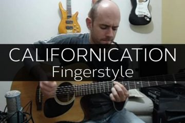Red Hot Chili Peppers - Californication fingerstyle tabs