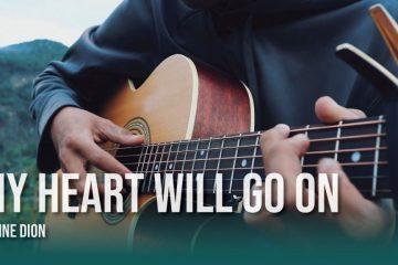 Celine Dion - My Heart Will Go On fingerstyle tabs