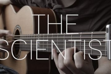 Coldplay - The Scientist fingerstyle tabs