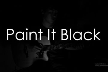 The Rolling Stones – Paint It Black fingerstyle tabs (Hajun Lee)