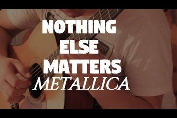 Metallica – Nothing Else Matters fingerstyle tabs (Fabio Lima)