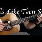 Nirvana – Smells Like Teen Spirit fingerstyle tabs (Kelly Valleau)