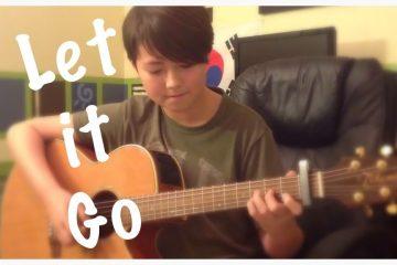 OST Frozen – Let It Go fingerstyle tabs (Andrew Foy)