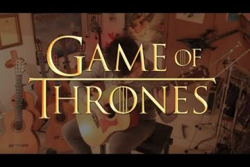 Game of Thrones Opening Theme fingerstyle tabs