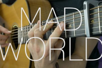 Mad World fingerstyle tabs