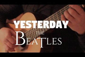 The Beatles - Yesterday fingerstyle tabs