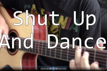 Walk The Moon - Shut Up And Dance fingerstyle tabs