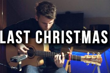 Wham! - Last Christmas fingerstyle tabs