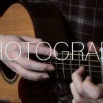 Ed Sheeran – Photograph fingerstyle tabs (James Bartholomew)