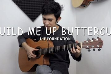 The Foundations - Build Me Up Buttercup fingerstyle tabs