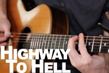 AC/DC- Highway To Hell fingerstyle tabs