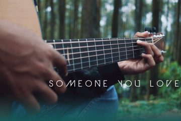 Lewis Capaldi - Someone You Loved fingerstyle tabs