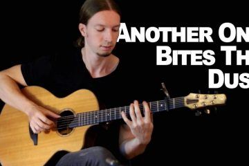 QUEEN - Another One Bites The Dust fingerstyle tabs