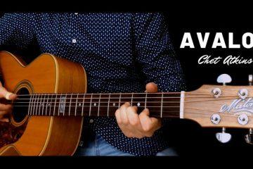 Chet Atkins - Avalon fingerstyle tabs