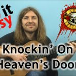 Guns N' Roses – Knockin' On Heaven's Door fingerstyle tabs