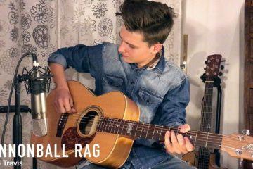 Merle Travis - Cannonball Rag fingerstyle tabs