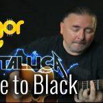 Metallica – Fade To Black fingerstyle tabs (Igor Presnyakov)