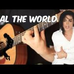 Michael Jackson – Heal The World fingerstyle tabs (Fabio Lima)