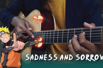 Naruto - Sadness and Sorrow fingerstyle tabs