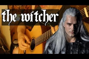 The Witcher - Toss A Coin To Your Witcher fingerstyle tabs