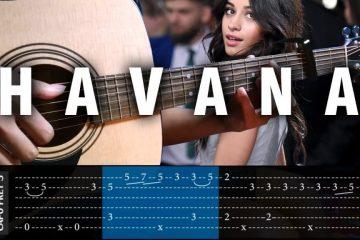 Camila Cabello - Havana fingerstyle tabs