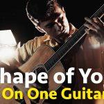 Ed Sheeran – Shape of You fingerstyle tabs (Marcin Patrzalek)