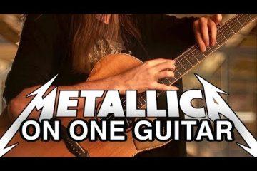 Metallica - One fingerstyle tabs