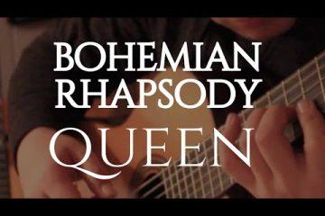 Queen - Bohemian Rhapsody fingerstyle tabs