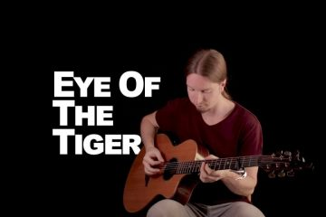 Survivor - Eye Of The Tiger fingerstyle tabs