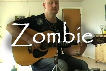 The Cranberries - Zombie fingerstyle tabs