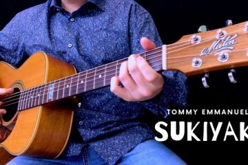 Tommy Emmanuel - Sukiyaki fingerstyle tabs