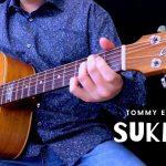 Tommy Emmanuel – Sukiyaki fingerstyle tabs (Lorenzo Polidori)