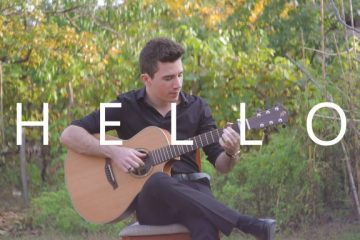 Adele – Hello fingerstyle tabs (Peter Gergely)