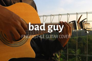 Billie Eilish – Bad Guy fingerstyle tabs (Iqbal Gumilar)