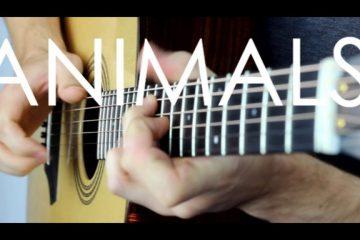 Maroon 5 – Animals fingerstyle tabs (Gareth Evans)