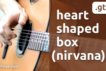 Nirvana – Heart-Shaped Box fingerstyle tabs (Maxim Yarushkin)