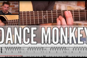 Tones and I - Dance Monkey fingerstyle tabs
