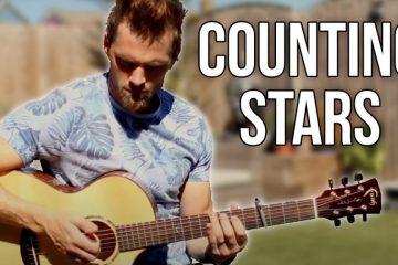 OneRepublic – Counting Stars fingerstyle tabs (Gareth Evans)