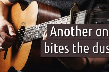 Queen – Another one bites the dust fingerstyle tabs (Maxim Yarushkin)
