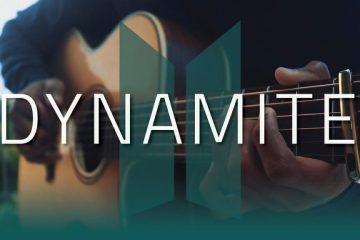 BTS – Dynamite fingerstyle tabs (Iqbal Gumilar)