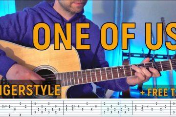 Joan Osborne – One of Us fingerstyle tabs