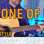 Joan Osborne – One of Us fingerstyle tabs