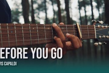 Lewis Capaldi – Before You Go fingerstyle tabs (Iqbal Gumilar)