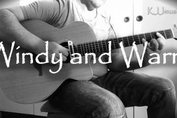 Tommy Emmanuel, Chet Atkins, John D. Loudermilk – Windy and Warm fingerstyle tabs