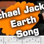 Michael Jackson – Earth Song fingerstyle tabs (Yuri Volkov)