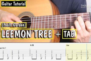 Fools Garden – Lemon Tree fingerstyle tabs (Thành Toe)