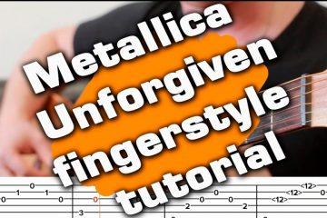 Metallica – The Unforgiven fingerstyle tabs