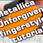 Metallica – The Unforgiven fingerstyle tabs (Yuri Volkov)